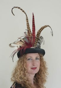 Feathered Top Hat created by Philadelphia Philpot