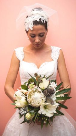 philadelphia_philpot_jasmin_payne_lace_bridal_headpiece_Sydney _2012