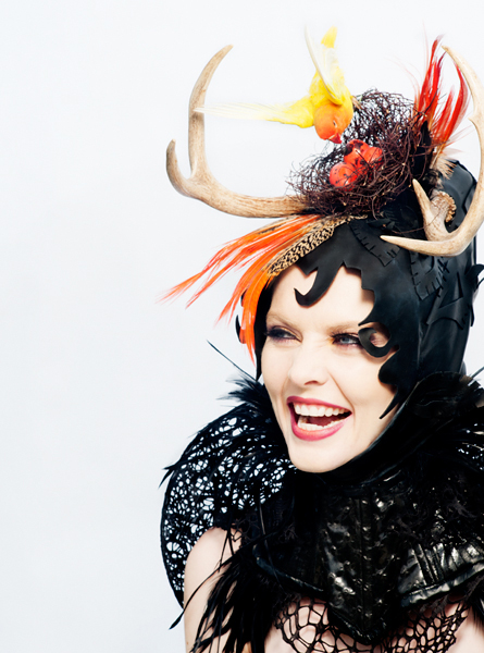 torunn_photographs_philadelphia_philpot_millinery_black_gothic_princess_laughing_bridal_headpiece_2013