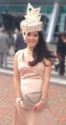 Philadelphia Philpot Blush hat for Fika Utari - 2013
