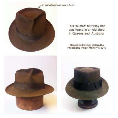 Hat & Headpiece Restoration Inner West Sydney | Philadelphia