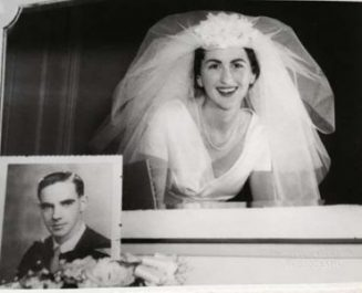 Margaret Mullins 1959 Wedding