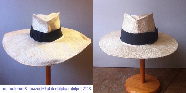 Philadelphia Philpot_straw hat restored_reshaped_resized 2016