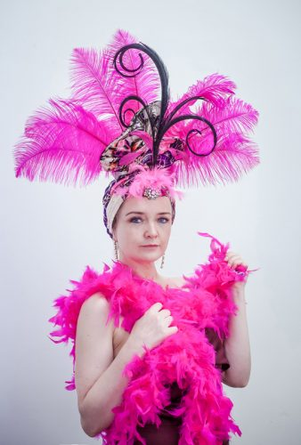 Philadelphia Philpot Theatrical headpiece created for Clodagh Reid