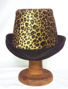 Vintage hat re-styled by Philadelphia Philpot Millinery