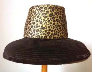 PhPhiladelphia Philpot Millinery- restyling of Vintage hatiladelphia Philpot Millinery- restyling of Vintage hat