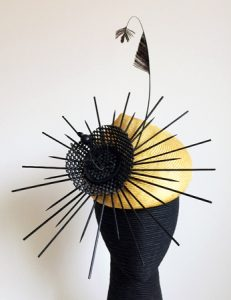Restyled hat by Philadelphia Philpot Millinery 2017