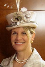 Rebecca Bleich wearing a Philadelphia Philpot hat 2010