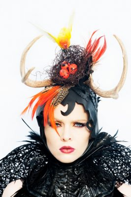 torunn photographs philadelphia philpot gothic bridal headpiece 2014