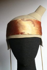 felt costume dogue hat by wendi nutt- philadelphia philpot
