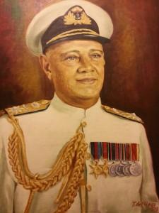 Rear Admiral D.V. Hunter.Commander of Royal Ceylon Navy 1970_2