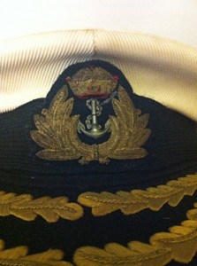 Philadelphia Philpot Restoration of 1970's Sri Lankan Naval Hat