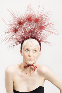 Philadelphia Philpot Millinery-Costume headpiece