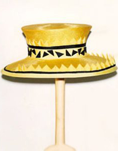 Philadelphia Philpot yellow and black hat created in the 1990's