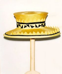 Philadelphia Philpot yellow and black hat from the 1990's